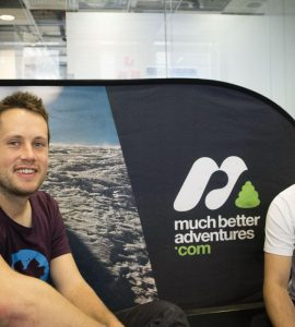 Much Better Adventures' founders