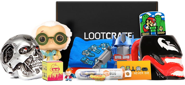 Image result for loot crate best men's gift subscription