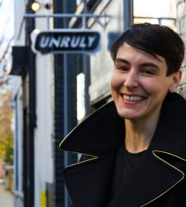 The founder of Unruly, Sarah Wood