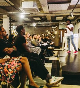 The Pitch startup competition